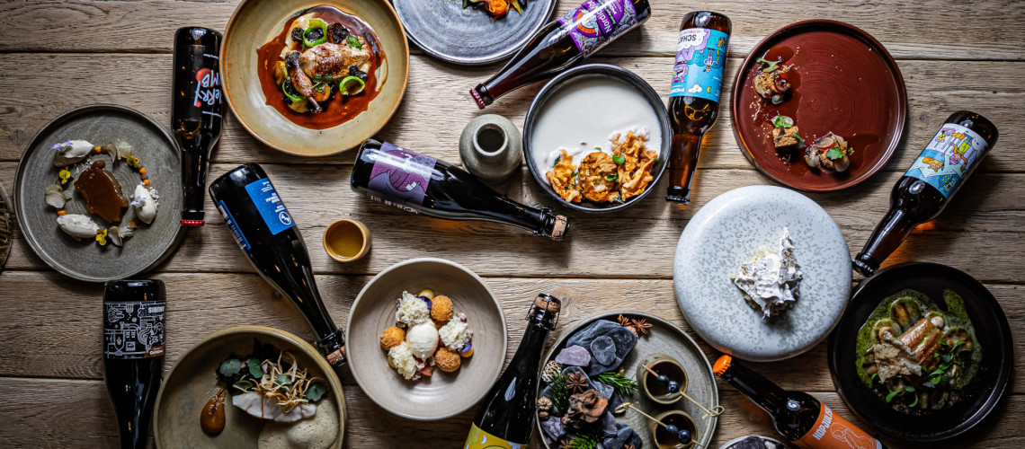Michelin-csillagos éttermi sörpárosítások között a MONYO Brewing Co. nyolc tétele