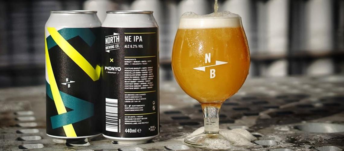 Másodszorra kollaboráltunk a North Brewing Co-val!