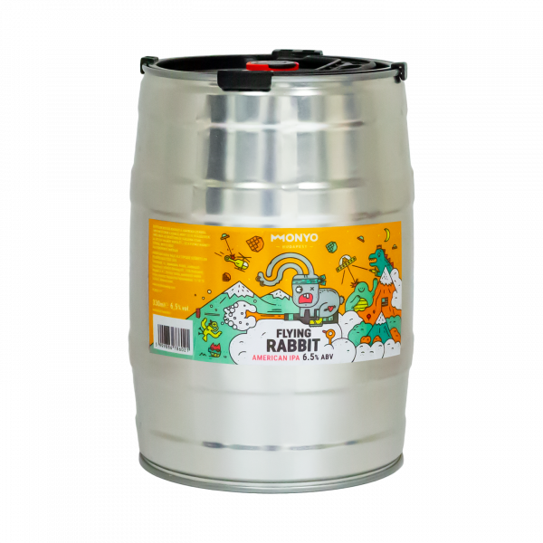 Flying Rabbit 6.5% 5l Party KEG