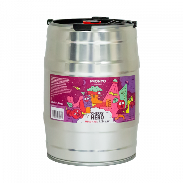Cherry Hero 4.3% 5l Party KEG