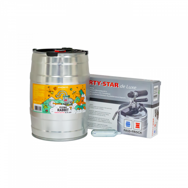 Flying Rabbit 6.5% 5l Party KEG Kit