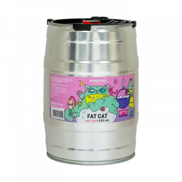 Fat Cat 4.6% 5l Party KEG