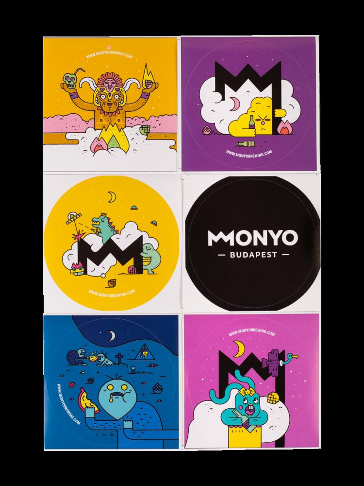 MONYO Brewing Sticker Pack