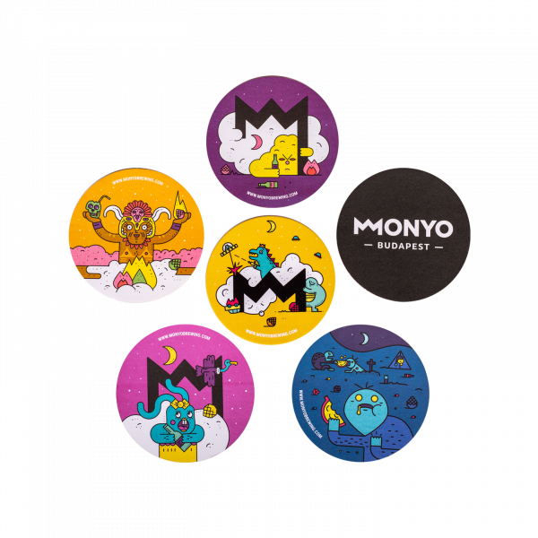 MONYO Brewing Coaster Pack