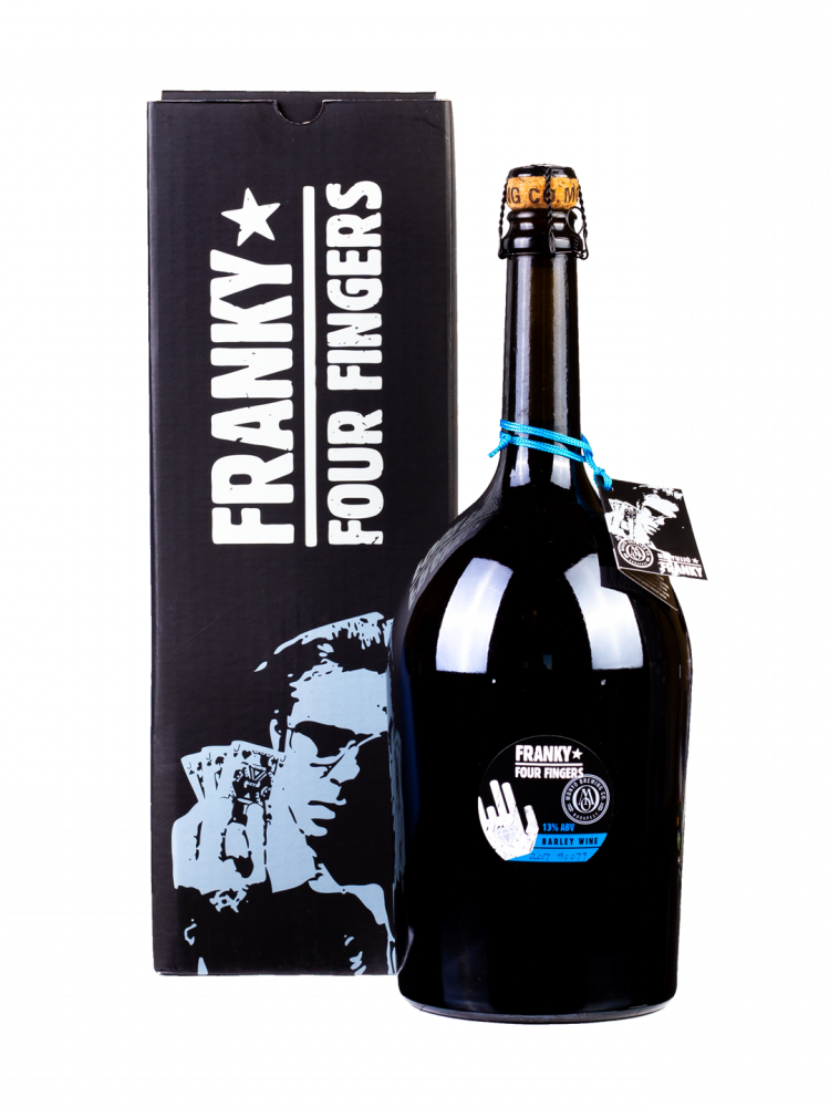 Franky Four Fingers 2017 13% 1.5l + Gift Box