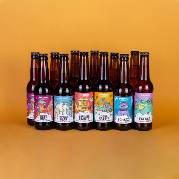 Quaffable beers for quarantine pack